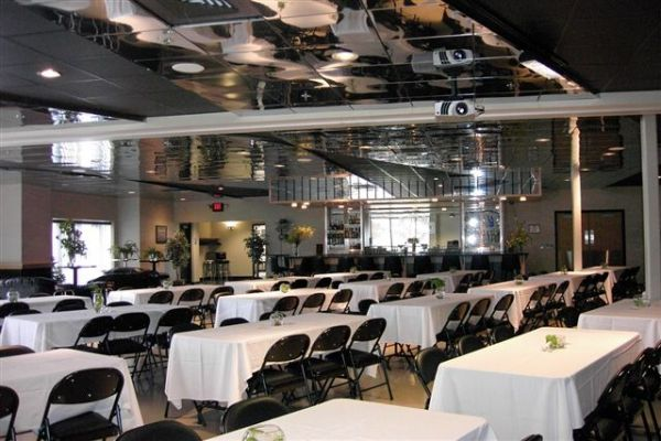 the banquet room at harley-davidson of madison :: menu